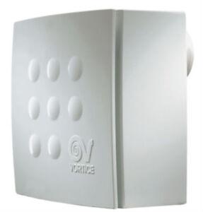 Vortice 11940 Quadro Micro 100T Centrifugal Bathroom Fan with Timer