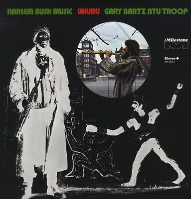 Gary Bartz  Gary Bar   Harlem Bush Music Uhuru  New Vinyl  Uk   Impor