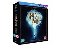 harry potter 8 disk blu ray boxset