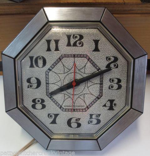 Retro Wall Clock Ebay