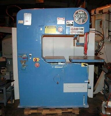 Doall Model 36-1 Vertical Bandsaw Model 3618-1 Inv.11378