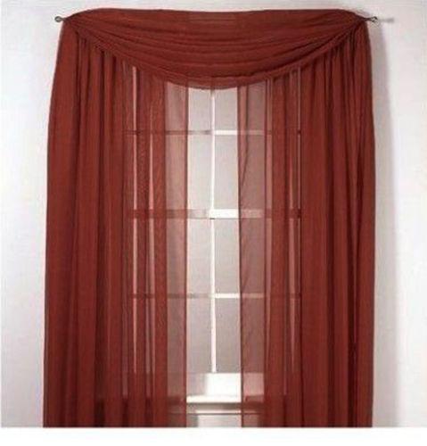 Crushed Voile: Curtains, Drapes & Valances | eBay