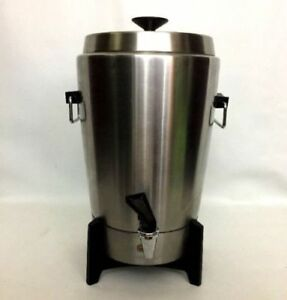 West Bend Stainless Steel Automatic Coffee Perk Urn 12-30 CUP