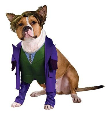 Rubies Dog Costume Joker Batman Size Medium! Dark Knight