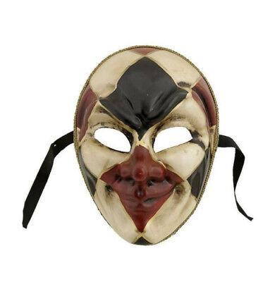 Mask from Venice Joker Argyle Civet Authentic Carnival 69