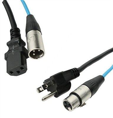 PSP12-40-SS Speakon to Speakon ProCraft 40 Foot 12 Gauge Speaker Cable Wire
