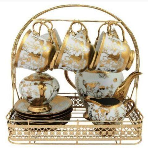 Fine Bone China Tea Set Ebay