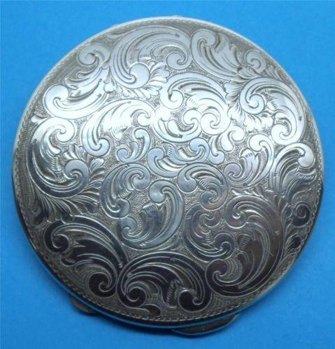 Sterling Silver Compact Ebay