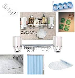 Bathroom Bundle(set), Shower Dispenser, with light blue shower c