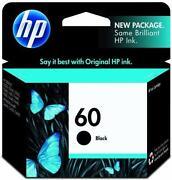 HP 60 Black Ink