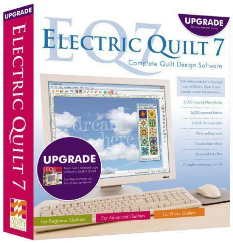 Electric Quilt 7 Ebay