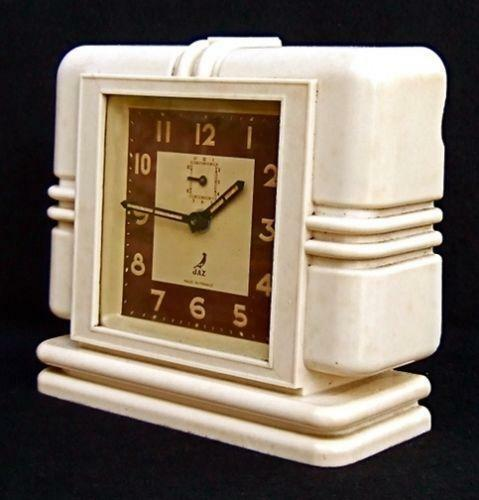 Art Deco Clock Ebay