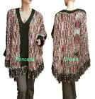 Unbranded Plus Size Poncho Jumpers & Cardigans for Women