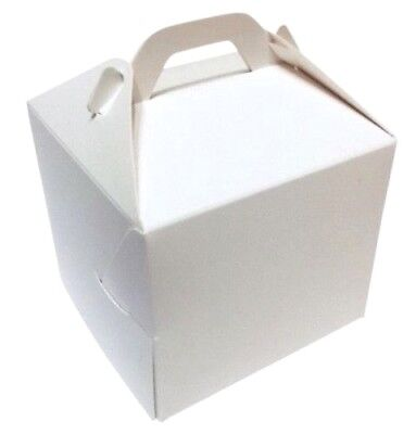30 Single / Individual Cupcake Boxes  80 x 80mm **** £3.49 for 30 - Individual Cupcake Boxes
