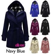Ladies Navy Blue Coat