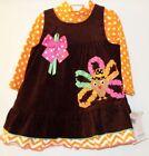 Bonnie Baby Brown Dresses (Newborn - 5T) for Girls