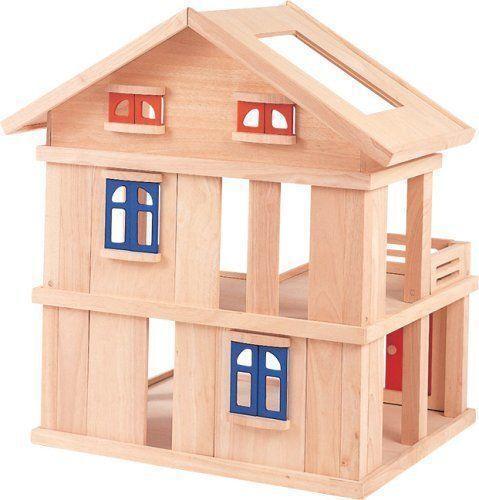 Plan Toys Wooden Dollhouse Ebay