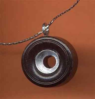 Novelty TIRE PENDANT NECKLACE-Fun Car Auto Mechanic NASCAR Funky Costume Jewelry
