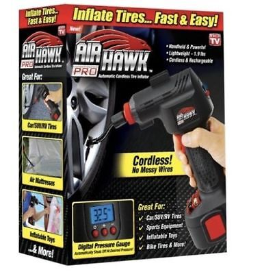 Air Hawk Pro Cordless Manageable Air Compressor As Seen On TV
