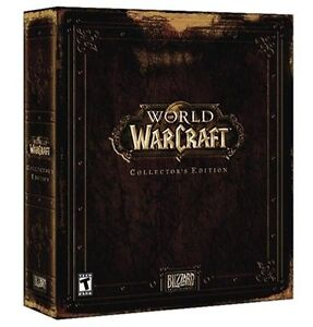 World of Warcraft Collectors Edition PARTIAL BOX