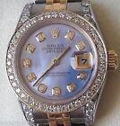 Pearl Rolex Lady-Datejust Analog Wristwatches