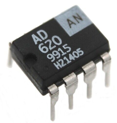 AD620AN Analog Devices, Instrumentation Amplifier,