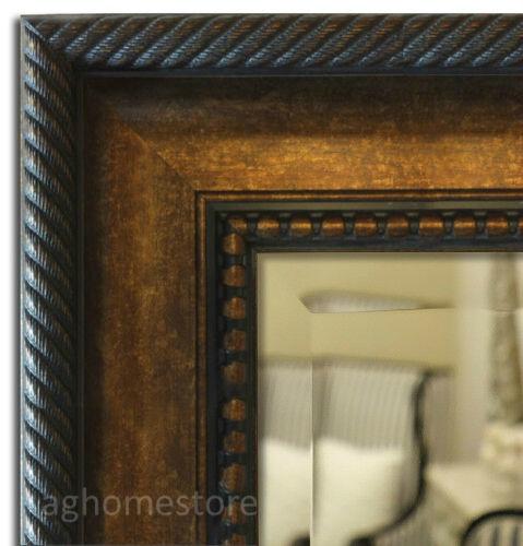 West Frames Santino Dark Golden Brown Bathroom Vanity Framed