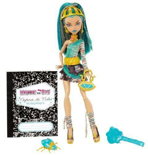 New monster high doll nefera ebay - Nefera de nile ...