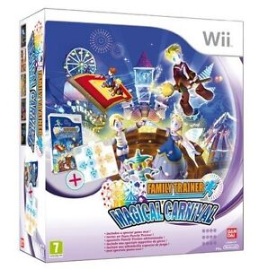 Family Trainer: Magical Carnival includes Mat Nintendo Wii Brand New