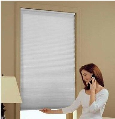 NEW with DEFECTS Cordless Cellular Shade Light-Filtering Honeycomb Blind NIB