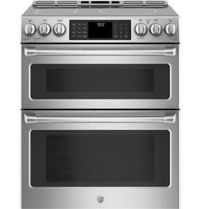 STOVE GE CAFE DOUBLE OVEN INDUCTION STAINLESS STEL.MOD.CHS995SEL