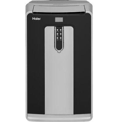 Dual Hose (Haier 14,000 BTU Dual Hose Portable Air Conditioner w/ Heater + Remote HPND14XHT )
