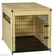 Wicker Dog Crate