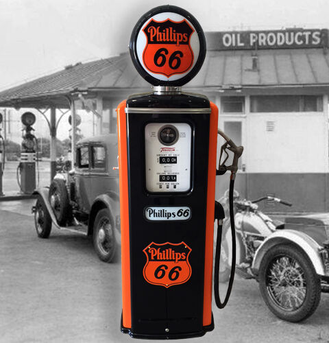 Phillips 66 Model 39 Tokheim Full Size Gas Pump-vintage Petroliana Style