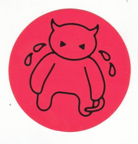 Radiohead sticker ebay