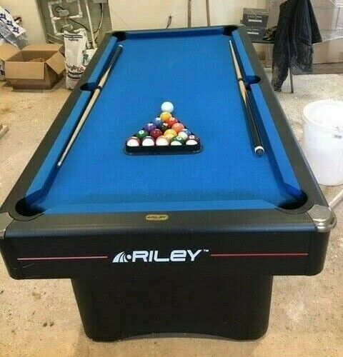 Riley England 6ft x 3ft Pool Table (With Cues, Chalk and Balls)