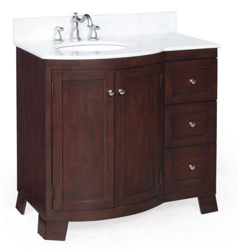 55 bathroom vanity ebay. Black Bedroom Furniture Sets. Home Design Ideas