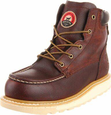 """Irish Setter Men's 83606 6"""" Aluminum Toe Work Boot Color BROWN"""