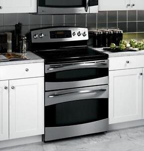 STAINLESS STEEL GLASS TOP & GAS STOVES ELECTRIC MAJOR BRANDS FREE DELIVERY UNTIL JAN 19
