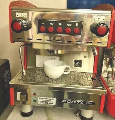 Conti Commercial Espresso Machinecappuccinolatte - 1grp 110v Nsful