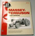Manual Massey Ferguson Tractor Parts for Massey Harris