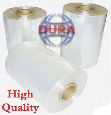 8 4370 Ft 60 Ga Clear Central Fold Polyolefin Heat Shrink Film Wrap Wrapping
