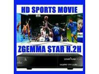 Zgemma H2H with VM 12months gift and guaranteed