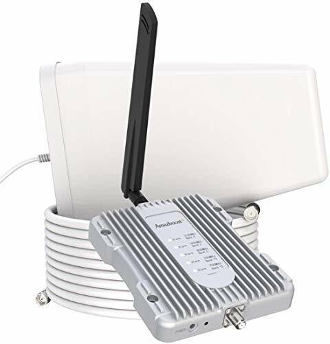 Amazboost Cell Phone Booster for Home -Up to 2,500 sq ft,Cell Phone Signal