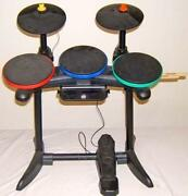 guitar hero drum kit wii ebay. Black Bedroom Furniture Sets. Home Design Ideas