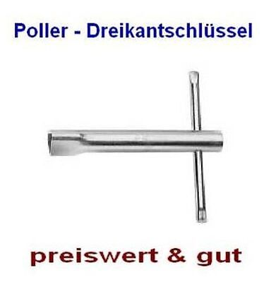 Polizeischlüssel-Pollerschlüssel-Dreikantschlüssel-Absperrpfostenschlüssel-NEU