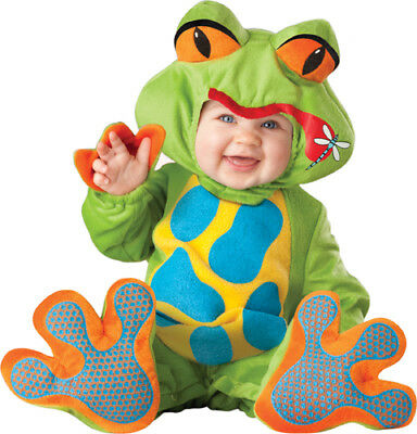 Baby Animal Halloween Costume - Lil' (Froggy Kostüm Babys)