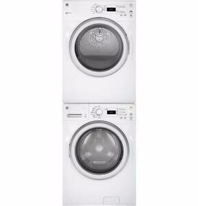 Combo: White 4,8 pi3 Washer/ 7 pi3 Dryer, frontload