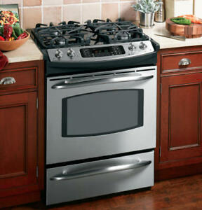 GE Profile Gas Range/Electric Oven (Dual Fuel) Slide-In