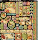 Graphic 45 Seasons Scrapbooking Stickers
